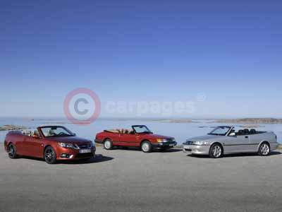 Three Generations of The Saab Convertible