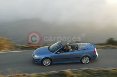 The Saab 9-3 Convertible Cerulean Edition