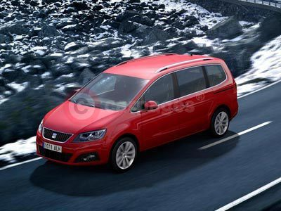 New SEAT Alhambra All Wheel Drive