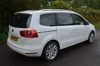 Seat Alhambra (Rear Side View) (2014)