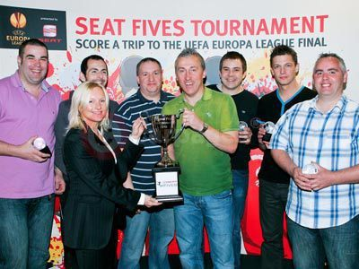 SEAT Five A Side Tournament Winners