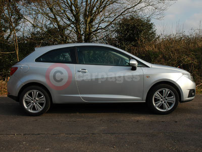 The SEAT Ibiza SC Side View