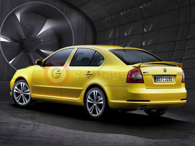 skoda octavia rs. The facelifted Skoda Octavia