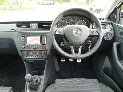 Skoda Rapid Spaceback (Interior View) (2013)
