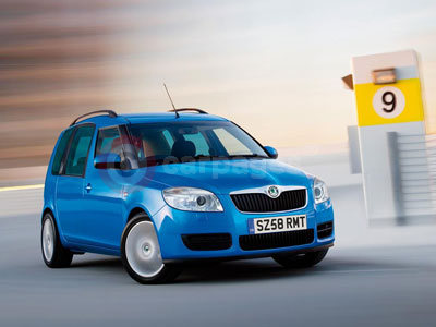 The Skoda Roomster
