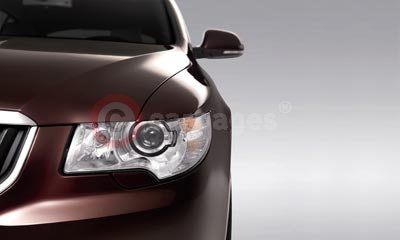 Skoda Superb with Adaptive Front Light System (AFS)