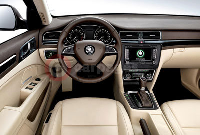 Skoda Superb Interior (2013)