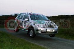Skoda Fabia Group N Rally Car