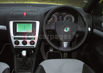 Scoda  Photo on Skoda Octavia Vrs Interior 21 01 07 Jpg