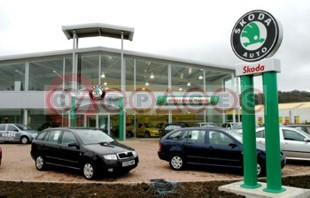 skoda retailer opens in cardiff and celebrates in style. Black Bedroom Furniture Sets. Home Design Ideas