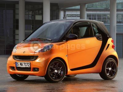 smart fortwo nightorange edition (2011)