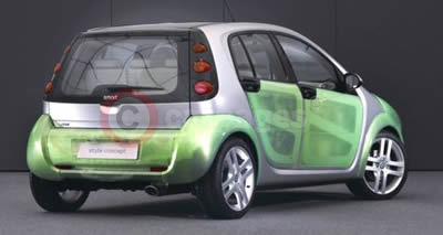 smart forfour style concept 'hot & tropic'