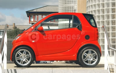 smart fortwo BRABUS Red