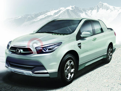 New SsangYong Actyon Sports Concept