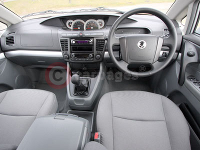 Ssangyong rodius review part two 2008 for Ssangyong rodius interior