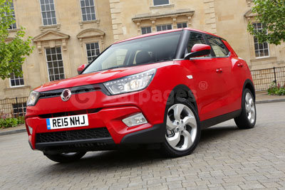 SsangYong Tivoli in Red (2015)