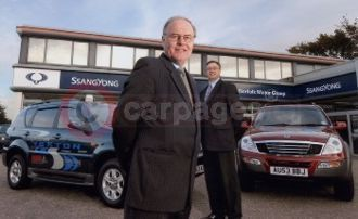 The First Fully Liveried SsangYong Dealership In The UK