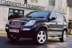 The SsangYong Rexton