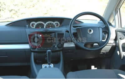 Ssangyong rodius review part five 2005 for Ssangyong rodius interior