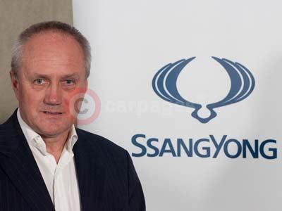 Steve Gray - Marketing and Communications Director, SsangYong Motor UK