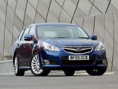 The New Subaru Legacy Tourer