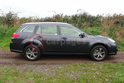 Subaru Outback (Side View) (2014)