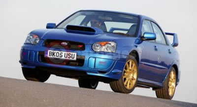 2005 Subaru Impreza WRX STi Type-UK
