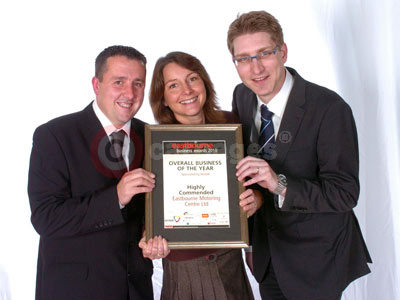 Matthew Piper, Gail Taylor and Alan Bray Of Eastbourne Suzuki