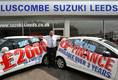 Luscome Suzuki Leeds Dealership