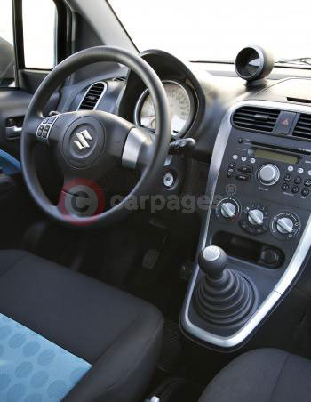 Suzuki Splash - Interior