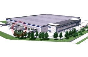 Artist's Impression Of Suzuki GB's New Parts, Training And Technical Centre