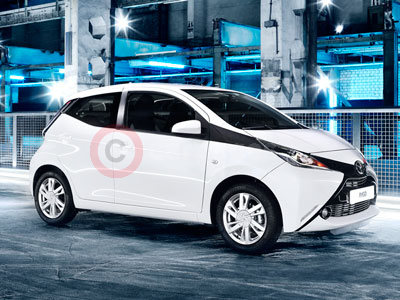 The New Toyota Aygo (2014)