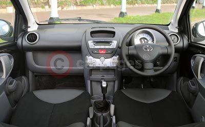 The New Toyota Aygo Interior