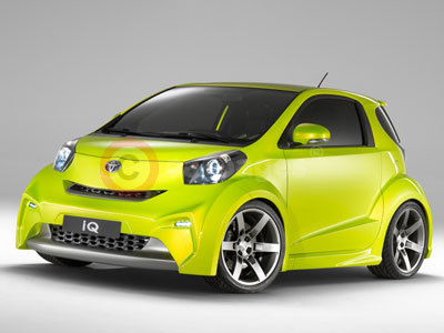 The Toyota iQ for Sport