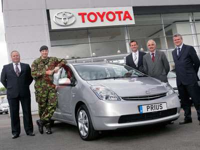 The Toyota Prius Recruited Into The British Army
