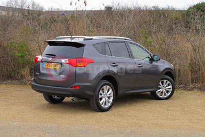 Toyota RAV4 (Front / Side View) (2013)