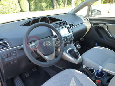 Toyota Verso (Interior View) (2014)