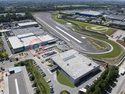 Toyota Proving Ground in Zaventem, Belgium