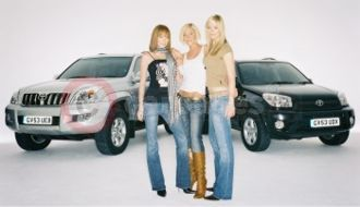 Atomic Kitten With Their Toyota 'Greatest Hits Collection'