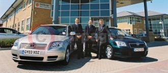 Inchcape's Pre-Contract Fleet Showcases Avensis
