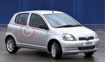 Toyota Yaris Colour Collection Silver