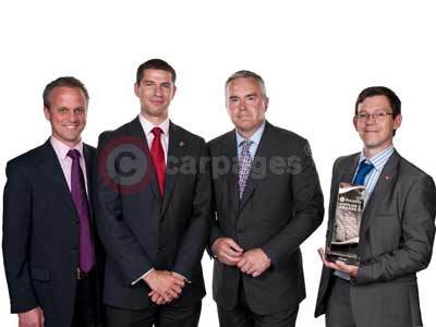 Andy Vincent, Steve Catlin, Hugh Edwards and James Taylor