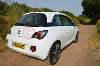 Vauxhall Adam (Rear Side View)