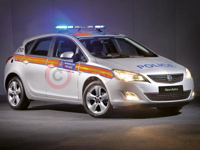 New Vauxhall Astra in Full Police Livery