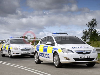 The Police Vauxhall Astra