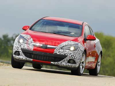New Vauxhall Astra GTC