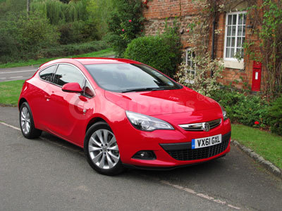 Vauxhall Astra GTC Review (2012)