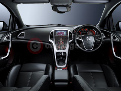 The New Vauxhall Astra's Interior