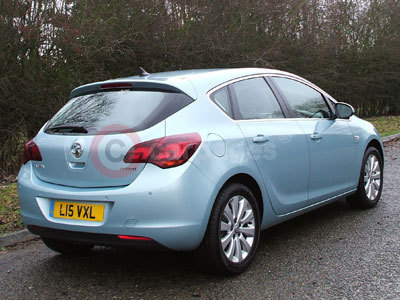 Vauxhall Astra Rear View