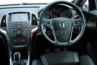 Vauxhall Astra VXR Road Test (2012)  Vauxhall Astra Vxr Interior